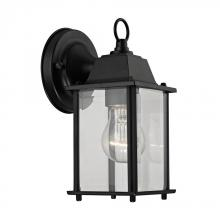 Elk Cornerstone 9231EW/65 - 1 Light Outdoor Wall Sconce In Matte Black